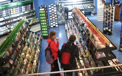 Second-hand Music Shops for DVDs, Vinyl and CD's