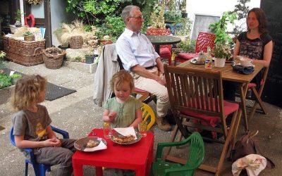 Garden Coffee Shop in Franciscan Garden and Playground