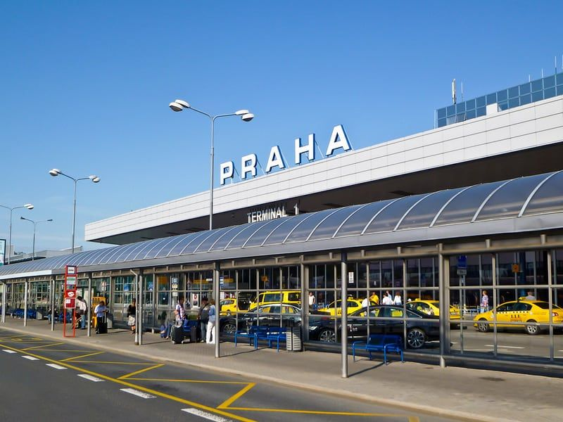 From Prague Airport to City Centre