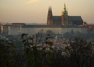 St Vitus Cathedral at sunset