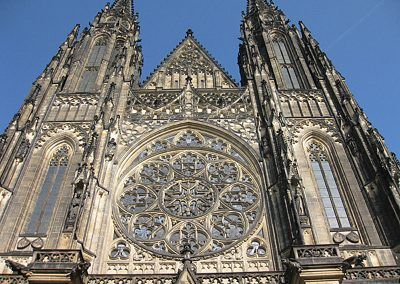 St Vitus Cathedral rose window