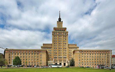 Stalinist Architecture: Hotel International Tourist Attraction