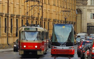 Tram and Metro in Prague