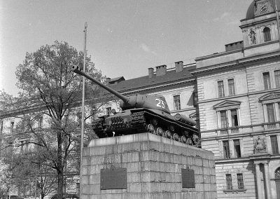 Pink tank in 1961