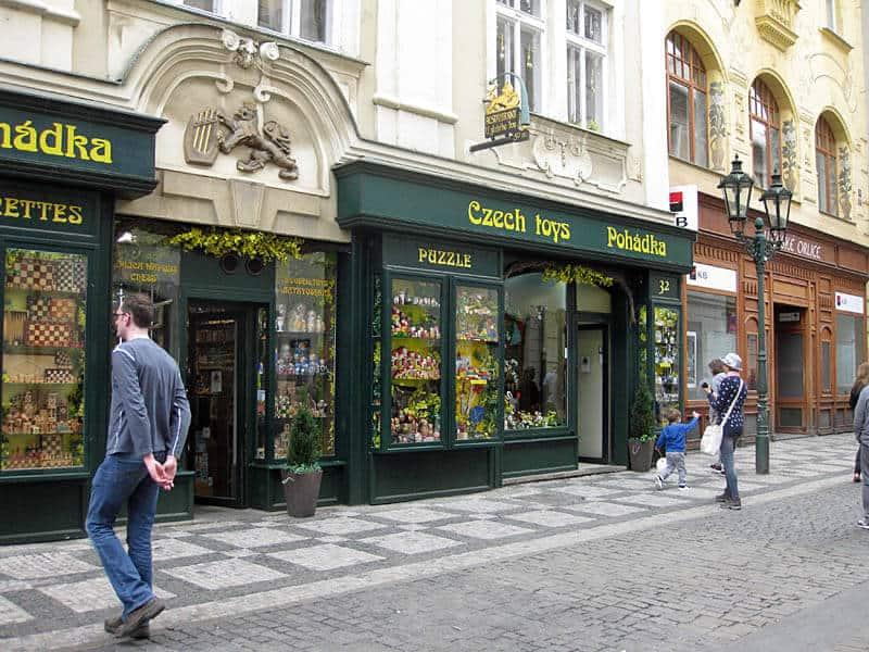 Shopping in Celetna Street