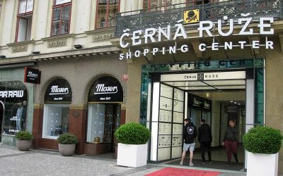 Cerna Ruze: Shopping Mall in Prague Centre