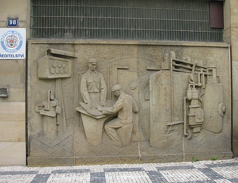 Socialist Realism Art and Sorela Architecture
