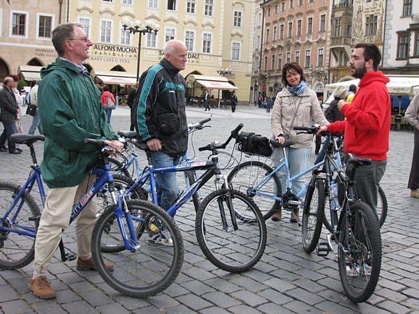 Discover Prague on a Bike Tour