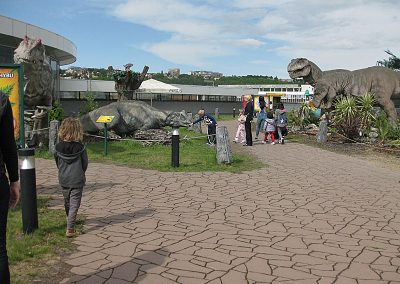 Dinosaurs in Prague