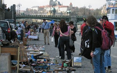 Flea Markets in Central Prague
