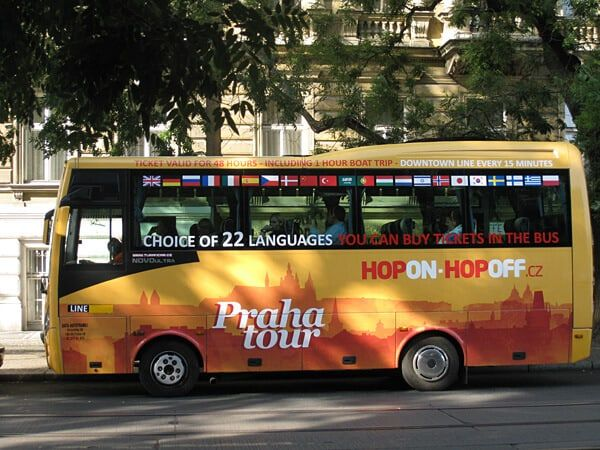 Hop-on Hop-off Bus Prague