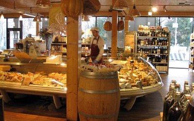 Italian Food Hall in Prague