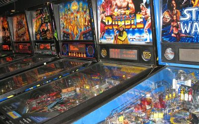 Pinball Machines Joystick Arcade Bar
