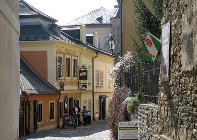 Quiet street in Kutna Hora