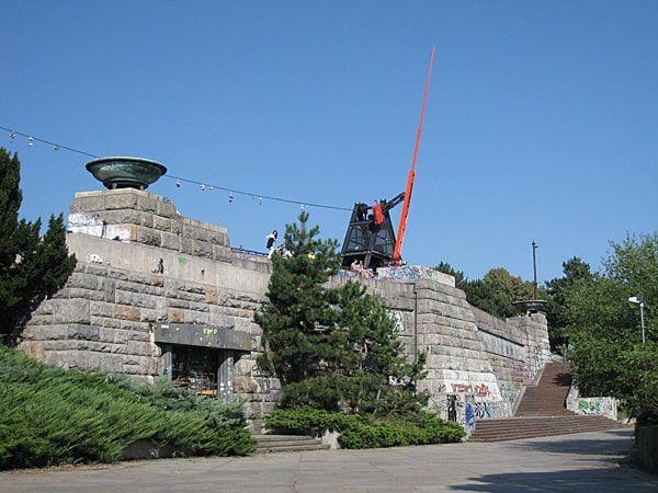 Letna Park, Beer Garden and Metronome