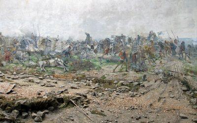 Maroldovo Panorama Circular Painting an Optical illusion