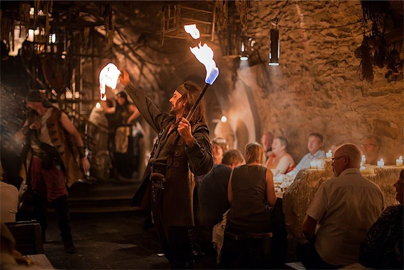 Medieval Dinner with Live Show in 21st Century Prague