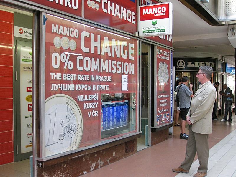 Money Exchange Offices in Prague