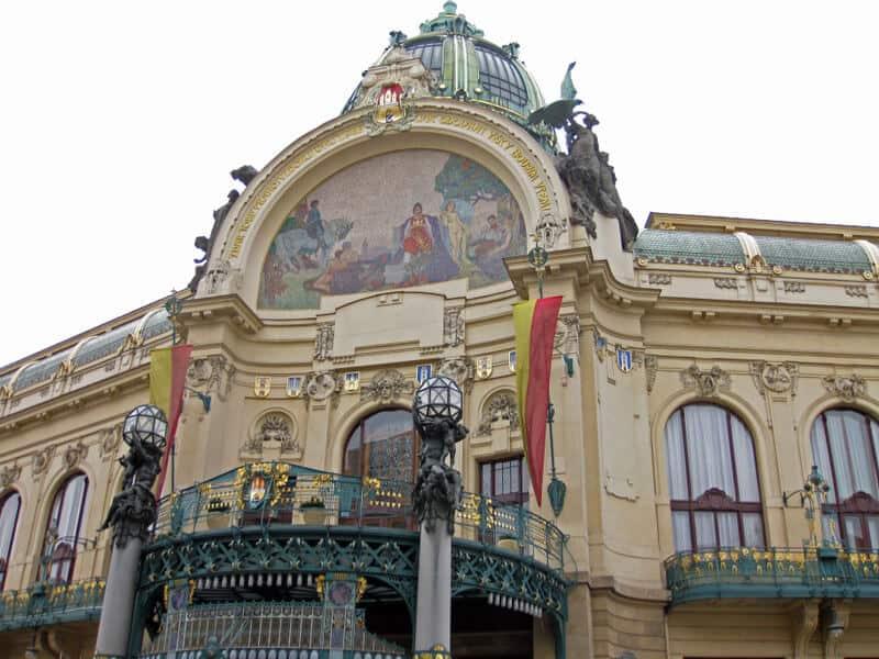 Municipal House and Art Nouveau