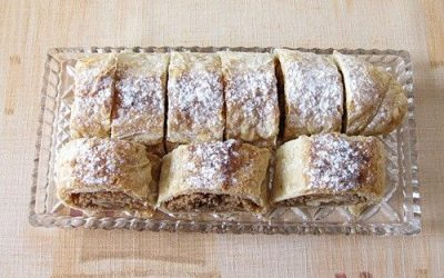 Recipe for Czech Apple Strudel