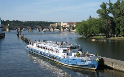Boat Trip Vltava River Perfect Way to See Prague