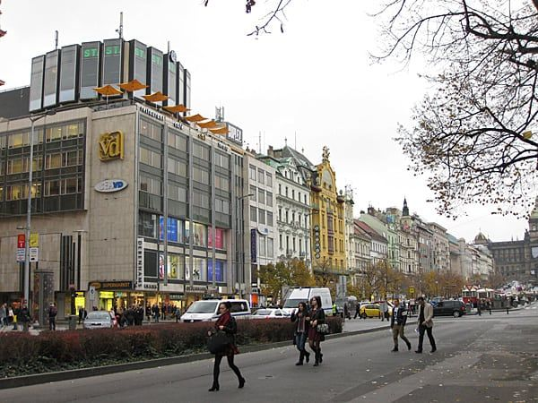 Wenceslas Square Shopping